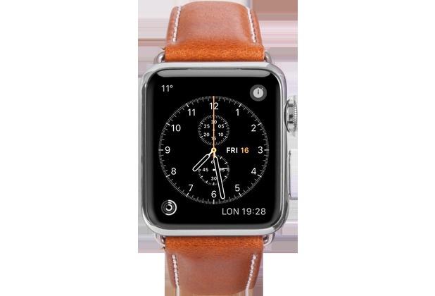 dbramante1928 dbramante1928 Copenhagen Strap, Apple Watch, 38/40mm, tan/space grau, AW38GTSG0880