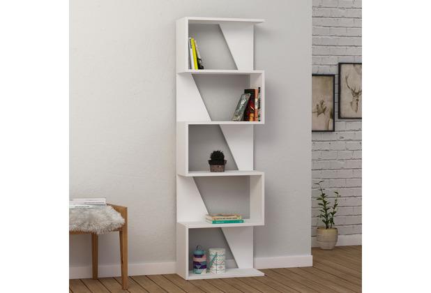 Decortie Bücherregal Frame, weiß