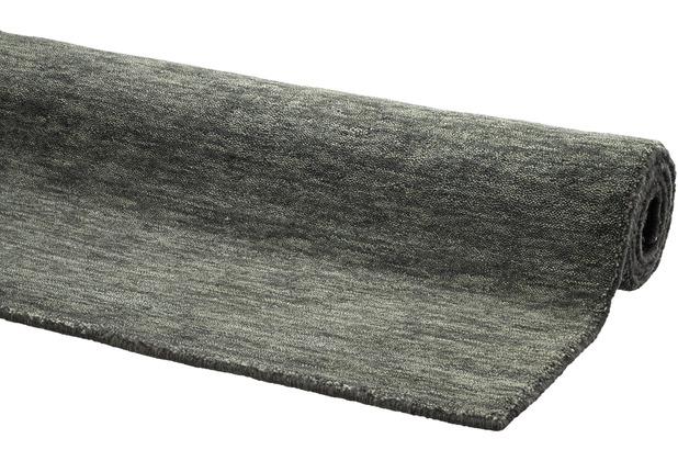 DEKOWE Gabbeh-Teppich Lindsay grau 65 x 130 cm