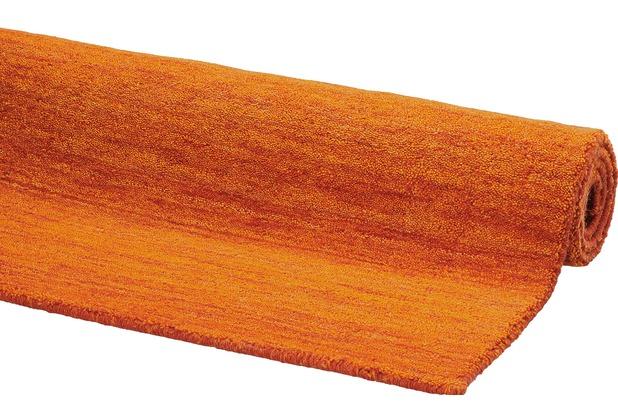 DEKOWE Gabbeh-Teppich Lindsay orange 65 x 130 cm