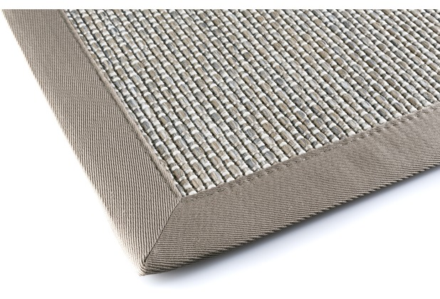 DEKOWE Outdoorteppich Naturino Color grau Wunschmaß