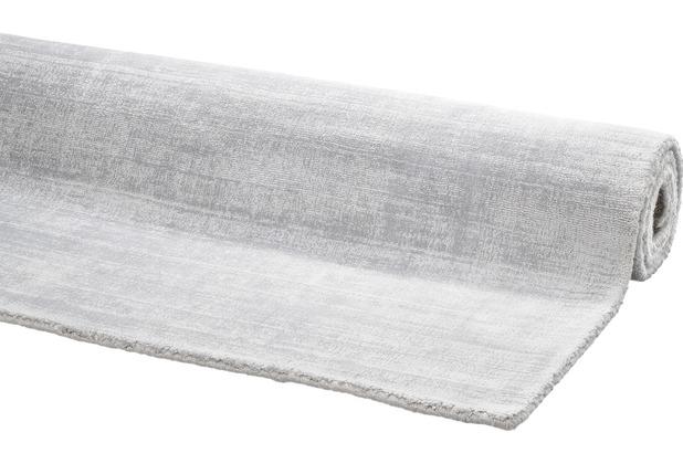 DEKOWE Teppich Harry silber 65 x 130 cm