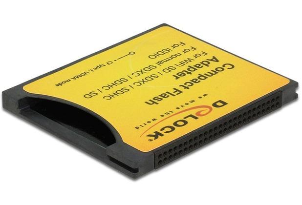 DeLock Adapter CF I zu SDHC Delock