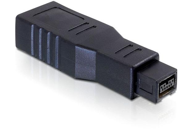 DeLock Adapter FireWire 9pin Stecker > 6pin Buchse