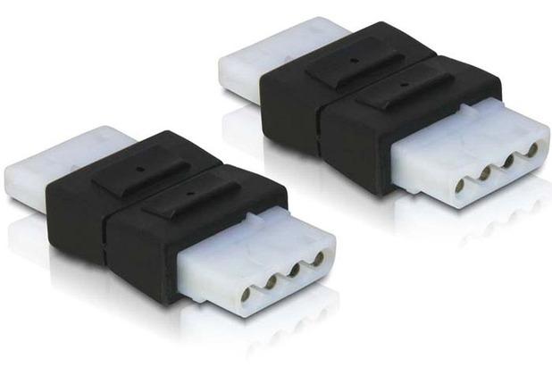 DeLock Adapter Power 4pin 5,25 Bu/Bu