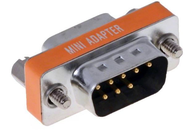 DeLock Adapter Sub-D 9Pin St/Bu Nullmodem, 65255