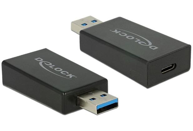 DeLock Adapter USB 3.0 A Stecker > USB Type-C™ Buchse