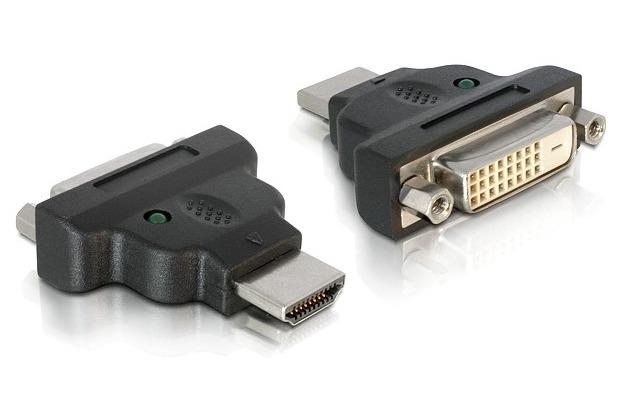 DeLock Adapterstecker HDMI <> DVI-D 24+1 Dual Link