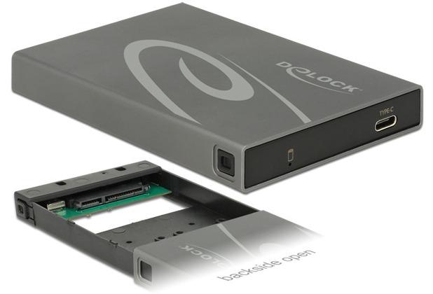 "DeLock Gehäuse 2.5\"" SATA SSD > USB 3.1 Gen 2 Type-C™"