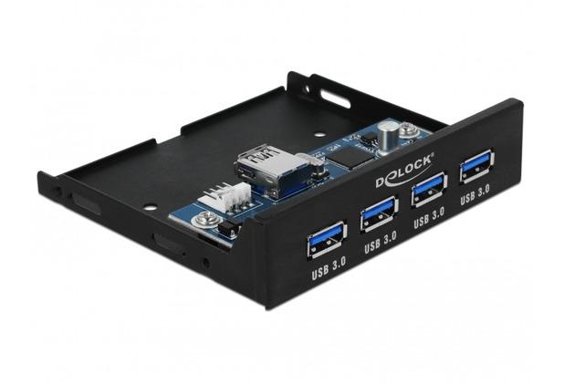 DeLock Interner 3.5 USB 3.0 Hub 4 Port