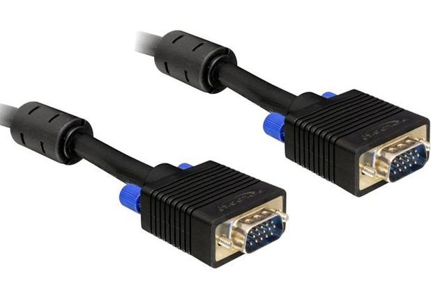 DeLock Kabel Monitor SVGA Stecker/Stecker 10m schwarz