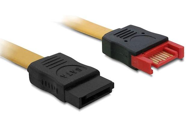 DeLock Kabel SATA 6 Gb/s Verlängerung Stecker - Buchse 50 cm
