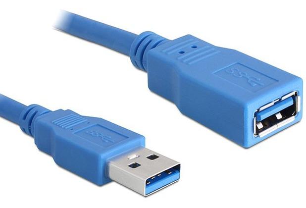 DeLock Kabel USB 3.0-A Verlängerung Stecker-Buchse 3m