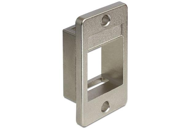 DeLock Keystone Halterung für Geräteeinbau