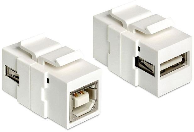 DeLock Keystone USB2.0 A Buchse > USB2.0 B