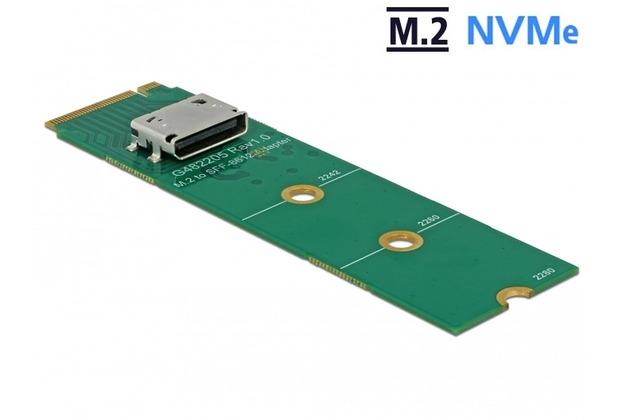 DeLock M.2 Key M zu 1 x OCuLink SFF-8612 Konverter