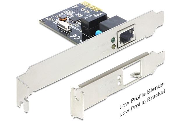 DeLock PCI Express Karte > 1 x Gigabit LAN lang