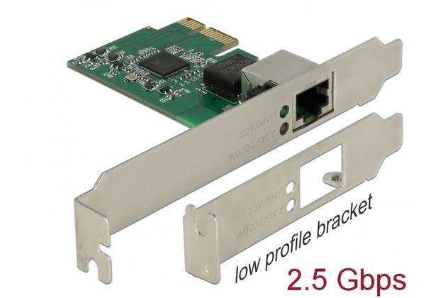 DeLock PCI Express x1 Karte auf 1 x 2,5 Gigabit LAN