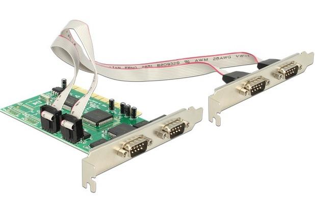 DeLock PCI Karte 4x Seriell