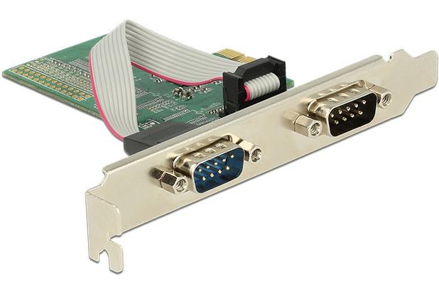 DeLock PCIe x1 > 2 x Seriell RS-232