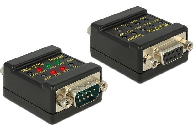 DeLock RS232 Tester DB9 Buchse > DB9 Stecker