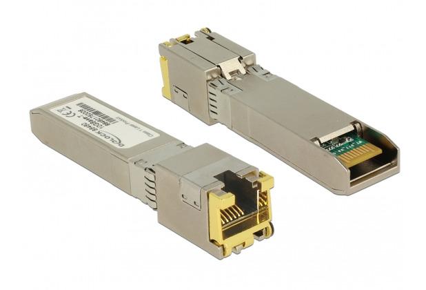 DeLock Transceiver 10GBase-T RJ45 SFP+ Modul