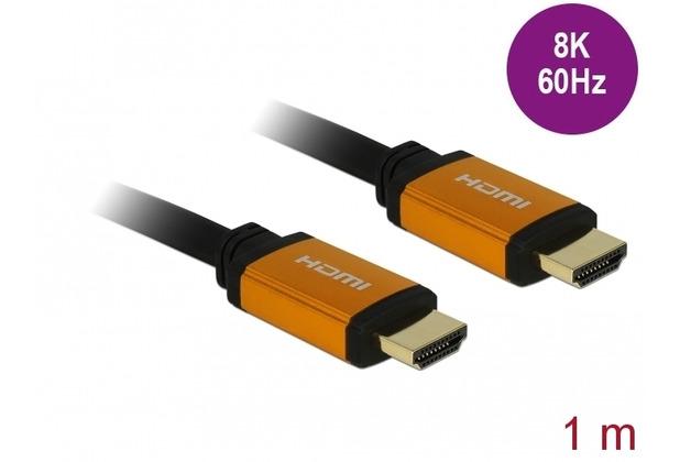 DeLock Ultra High Speed HDMI Kabel 48 Gbps 8K 60 Hz 1,0 m