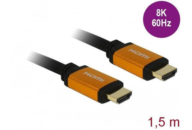 DeLock Ultra High Speed HDMI Kabel 48 Gbps 8K 60 Hz 1,5 m