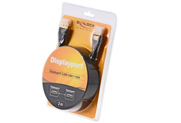 DeLock Video- / Audiokabel - DisplayPort St-St 2m
