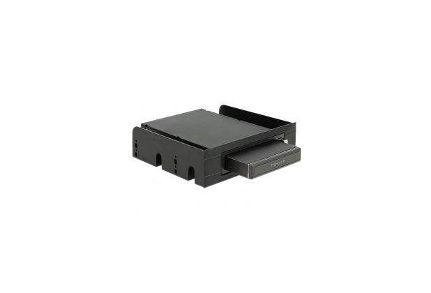 DeLock Wechselrahmen SATA/USB 3.0 komplett schwarz