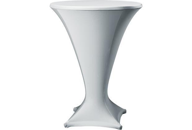 Dena Stehtischhusse Cocktail D1 Ø 80-85 cm, grau hell