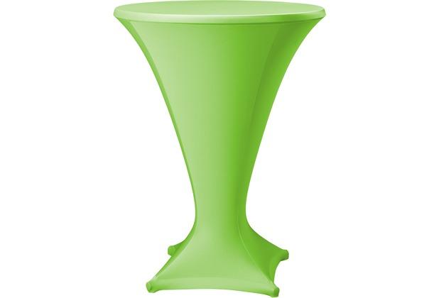 Dena Stehtischhusse Cocktail D1 Ø 80-85 cm, grün hell
