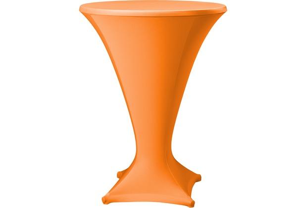 Dena Stehtischhusse Cocktail D1 Ø 80-85 cm, orange/terrakotta