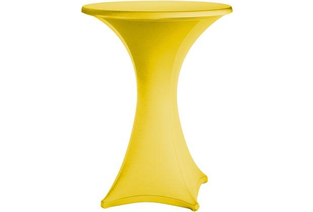 Dena Stehtischhusse Festival D1 Ø 70 cm, gelb
