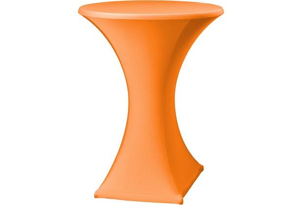 Dena Stehtischhusse Festival D2 Ø 70 cm, orange/terrakotta