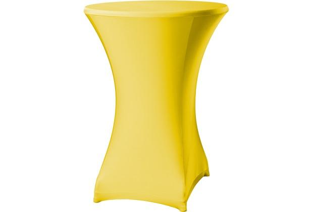 Dena Stehtischhusse Festival D3 Ø 80-85 cm, gelb
