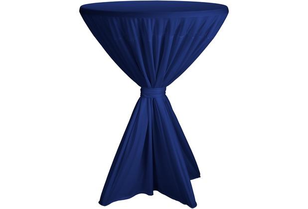 Dena Stehtischhusse Fiesta D1 Ø 80-90 cm, blau hell