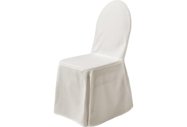 Dena Stuhlüberzug Excellent, Creme (mit Schleife)