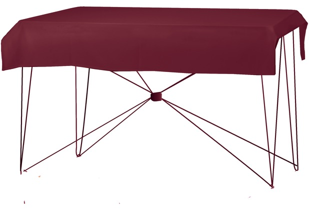 Dena Tischdecke PR 190x130cm Bordeaux