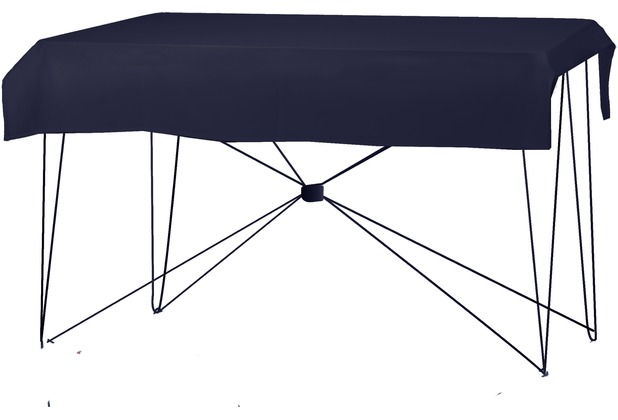 Dena Tischdecke PR 190x130cm Navy