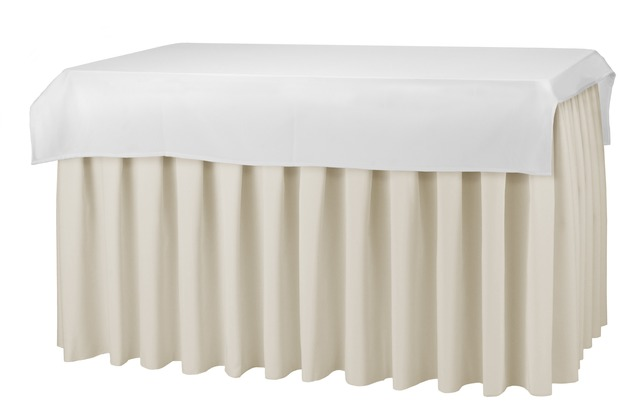Dena Tischdecke Standard rechteckig 140 x 140 cm, weiß