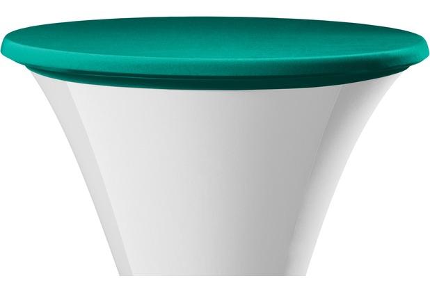 Dena Tischplattenbezug Festival / Cocktail grün dunkel Ø 70 cm