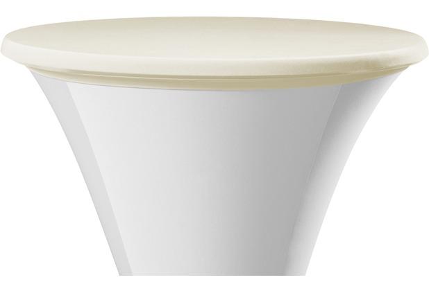 Dena Tischplattenbezug Samba, creme Ø 70 cm