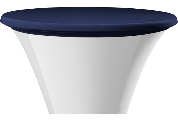 Dena Tischplattenbezug Samba blau dunkel Ø 70 cm