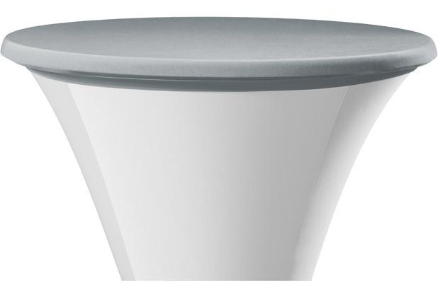 Dena Tischplattenbezug Samba grau hell Ø 70 cm