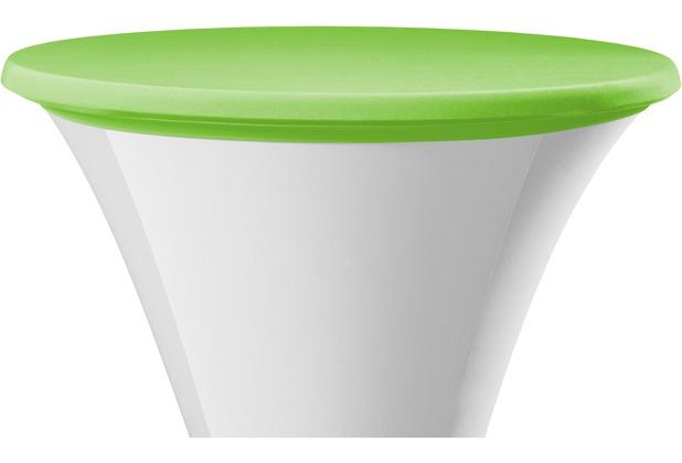 Dena Tischplattenbezug Samba hellgrün Ø 70 cm