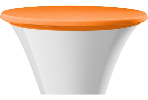 Dena Tischplattenbezug Samba Ø 70 cm, orange/terrakotta