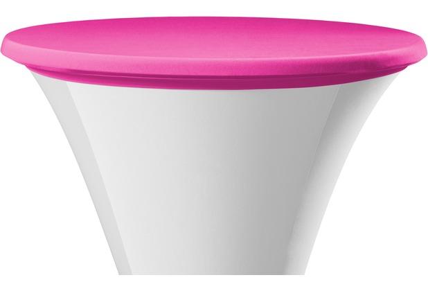 Dena Tischplattenbezug Samba Ø 70 cm, rosa/pink