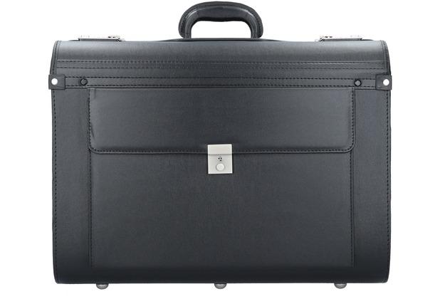 Dermata Pilotenkoffer 50 cm schwarz