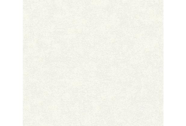 Designdschungel Vliestapete Tapete Unitapete weiß 360814 10,05 m x 0,53 m